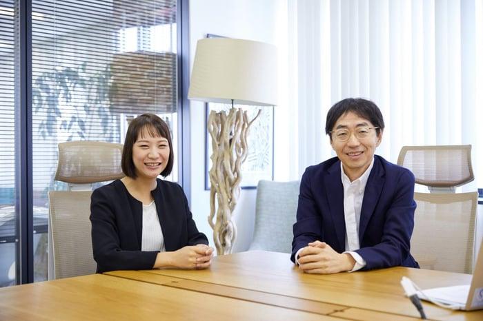 吉田行宏さん 株式会社アイランドクレア 代表取締役社長/組織づくりベース編集長 大島亜衣里
