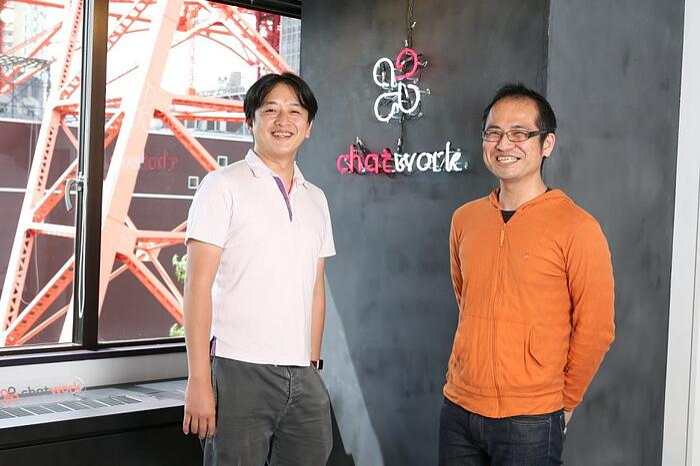 ChatWork株式会社 代表取締役CEO兼CTO 山本正喜さん/コーポレートサポート本部 本部長 西尾知一さん