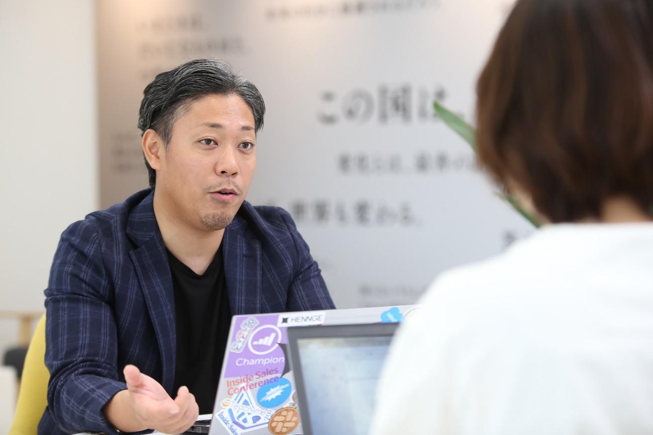 HENNGE株式会社 水谷 博明(ミズタニ ヒロアキ)さん 【HITO-Link CRM】